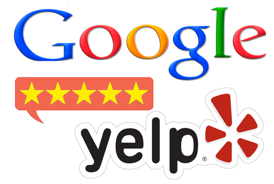google yelp reviews graphic